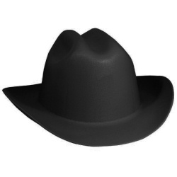 Cowboy Hard Hat Jackson Safety Black 3007313