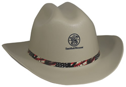 Cowboy Hard Hat Smith and Wesson Gray 3013274