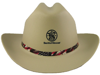 Cowboy Hard Hat Smith and Wesson Tan 3013273